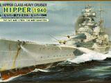 Pit-Road 1/700 W129 Admiral Hipper 1940