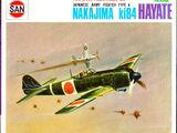 Marusan 1/100 028 Nakajima Ki 84 Hayate