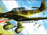 "Fujimi 1/72 35133 Ju 87B Stuka ""Shark Mouth"""