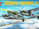 Airfix 1/72 02004 Lockheed P-38J Lightning