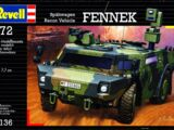Revell/Germany 1/72 03136 Fennek Recon Vehicle