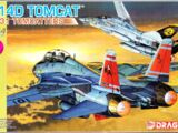 "Dragon Models 1/144 4592 F-14D Tomcat ""VF-31 Tomcaters"""