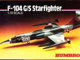 Humbrol 1/72 HK72008 F-104G/S Starfighter