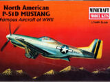 Minicraft 1/144 14417 North American P-51D Mustang