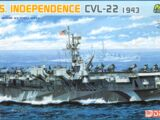 Dragon Models 1/700 7054 U.S.S. Independence CVL-22 1943