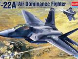 Academy 1/48 Lockheed Martin F-22A Raptor