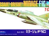 Crown 1/144 Dassault Breguet Mirage F1C