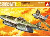 Tamiya 1/100 Messerschmitt Me262A & Me163B