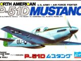 Crown 1/144 North American P-51D Mustang