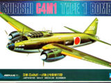Crown 1/144 Mitsubishi G4M1 Type1 Bomber