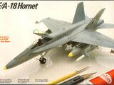 Testors/Italeri 1/72 628 F/A-18 Hornet