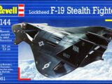 Revell/Germany 1/144 04051 Lockheed F-19 Stealth Fighter