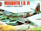 Airfix 1/72 02001 De Havilland Mosquito F.B.VI