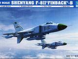 "Trumpeter 1/72 01610 Shenyang F-8II ""Finback""-B"