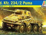 Italeri 1/72 7029 Sd.Kfz. 234/2 Puma