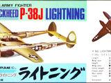 Crown 1/144 Lockheed P-38J Lightning