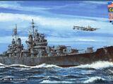 Pit-Road 1/700 W79 CA-68 USS Baltimore 1943