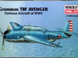 Minicraft 1/144 14414 Grumman TBF-1 Avenger