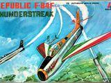 Italeri 1/72 107 Republic F-84F Thunderstreak