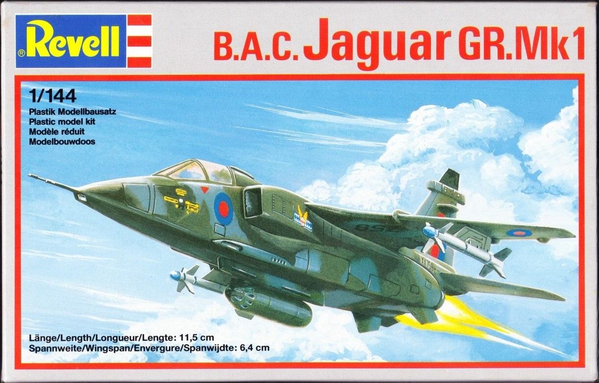 Revell/Germany 1/144 4041 B A C  Jaguar GR Mk 1