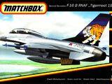 """Matchbox 1/72 40146 Genaral Dynamics F-16B RNAF """"Tigermeet 1992"""""""