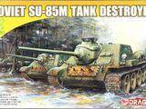 Dragon Models 1/72 7211 SU-85M Tank Destroyer