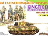 Dragon Models 1/72 7362 3rd Fallschirmjager Division + Kingtiger Henschel Ardennes 1944 Part 2