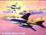 "Mastercraft 1/72 D-19 Sukhoi Su-17M3R ""Recon Fitter"""