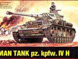 ESCI 1/72 8023 Pz.Kpfw. IV H