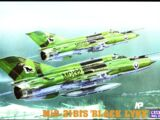 "Mastercraft 1/72 F-22 Mikoyan MiG-21bis ""Black Lynx"""