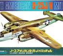 Crown 1/144 North American B-25H/J Mitchell
