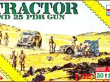 ESCI/ERTL 1/72 8614 Tractor and 25 pdr Gun