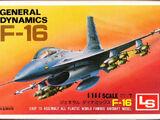 LS 1/144 A115 General Dynamics F-16