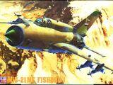 Mastercraft 1/72 F-24 Mikoyan MiG-21MF Fishbed J