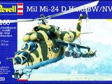 Revell/Germany 1/100 4069 Mil Mi-24D Hind BW/NVA