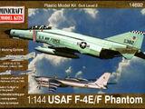 Minicraft 1/144 14692 USAF F-4E/F Phantom
