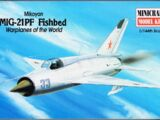 Minicraft 1/144 14426 Mikoyan MiG-21PF Fishbed
