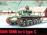 ESCI 1/72 8037 KV-1 type C