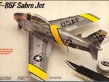 Testors/Fujimi 1/72 344 F-86F Sabre Jet