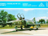 Roskopf 1/100 93 McDonnell Douglas RF-4E Phantom II