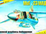 Zvezda 1/72 7218 MiG-23MLD