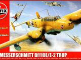 Airfix 1/72 A03081 Messerschmitt Bf 110E/E-2 Trop