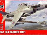 Airfix 1/72 A04051 BAe Sea Harrier FRS1