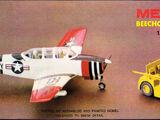 Minicraft/Hasegawa 1/72 1088 Beechcraft T-34A Mentor