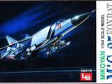 LS 1/144 1020 Mikoyan MiG-25 Foxbat