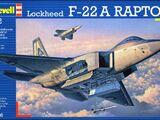 Revell/Germany 1/72 04386 Lockheed F-22A Raptor
