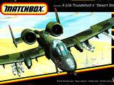 """Matchbox 1/144 40138 Fairchild A-10A Thunderbolt II """"Desert Storm"""""""