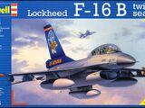 Revell/Germany 1/72 04355 Lockheed F-16B Twin Seater