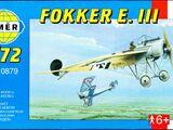 Smer 1/72 0879 Fokker E.III