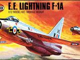 Airfix 1/72 02010 E.E. Lightning F.1A
